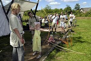 Ribe Vikingecenter Pfeil und Bogen