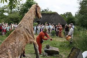 Ribe Vikingecenter Zeremonie