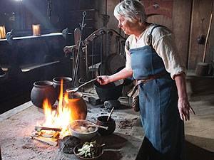 Ribe Vikingecenter Küche