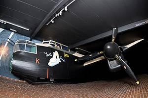 Stor flyver på Ringkøbing Museum