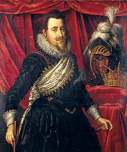 Painting of King Christian IV.