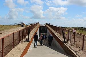 Adgang til bunkeren i Tirpitz
