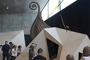 En af udstillingerne i Tirpitz-museet