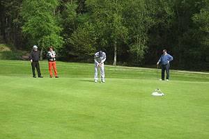 Trehøje golfbane golfspil