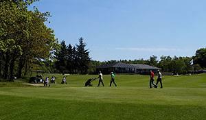Varde Golfklub Platz und KLubhaus