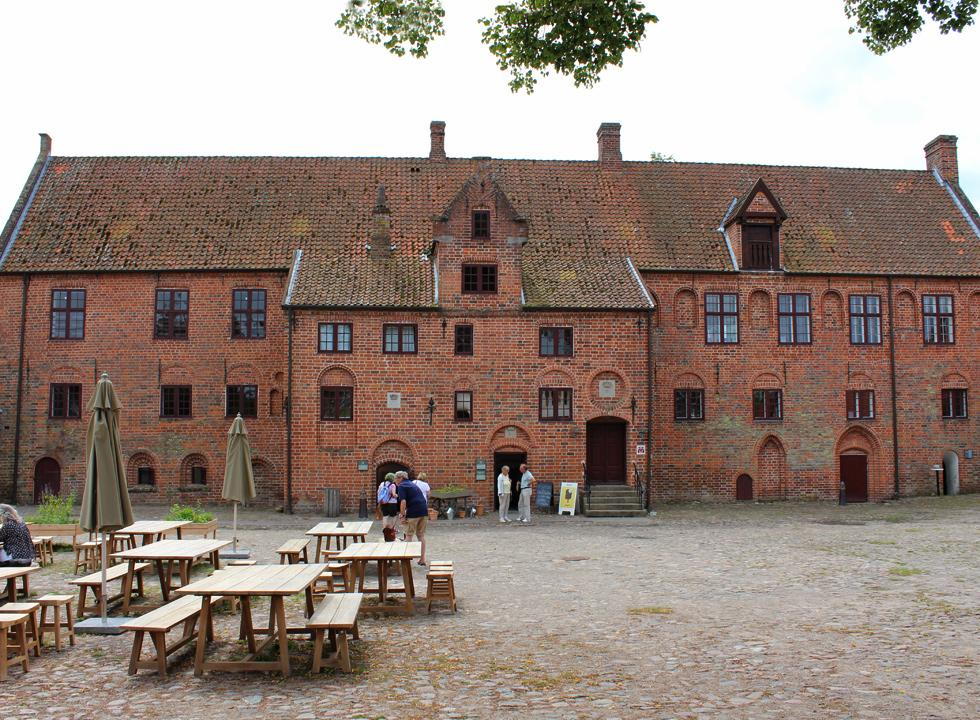 The monastery, Esrum Kloster, near Dronningmølle functions as a culture-historical museum today