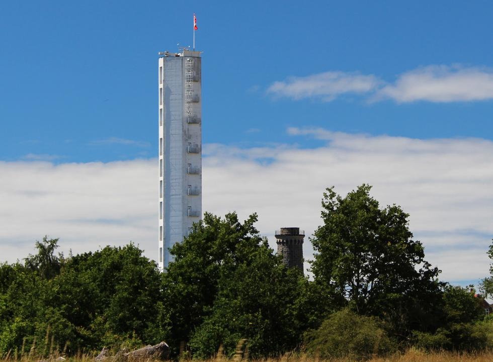 In the outskirts of Dueodde you will find the 70 metres high tower Bornholmertaarnet