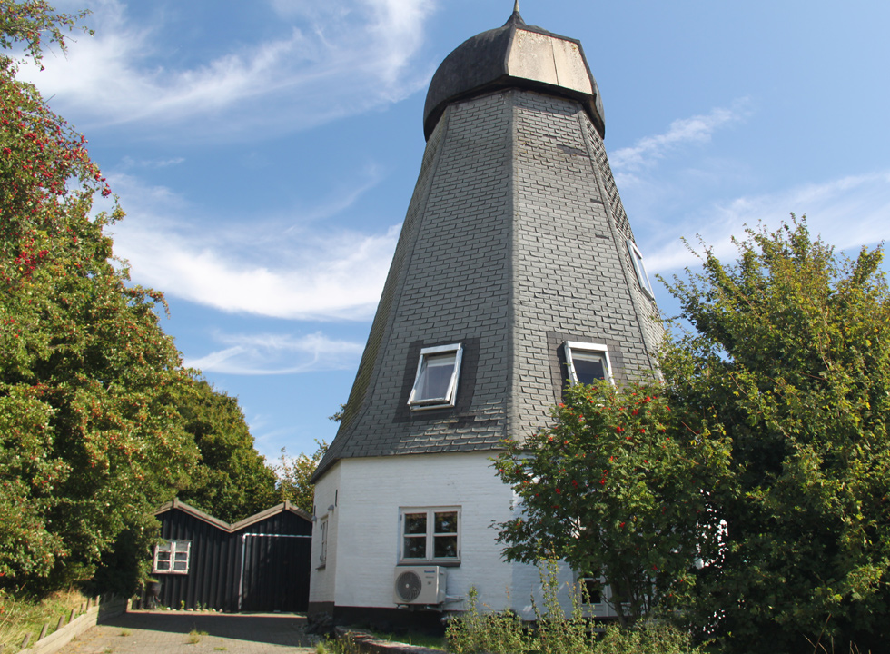 The former mill in Dunkær on Ærø