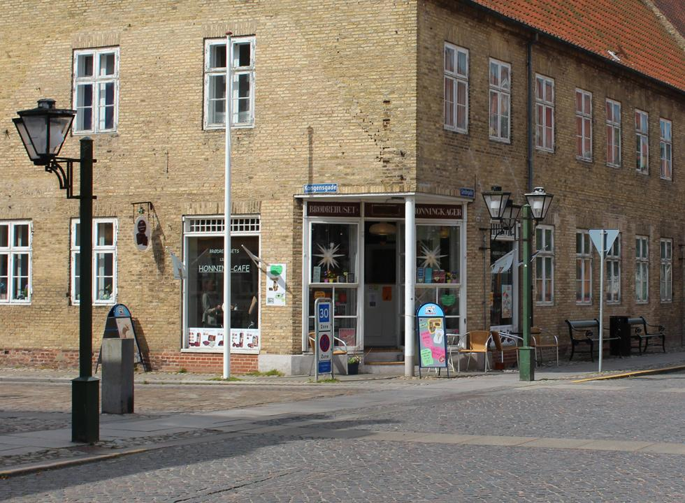 Visit a honey café or buy gingerbreads in Christiansfeld, 25 km from Flovt