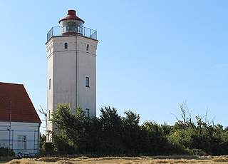 Gedser Fyr on the tongue, Gedser Odde, is Denmark's southernmost lighthouse