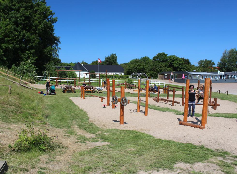 In Gjellerodde you can make use of a fine playground near the beach and the holiday homes