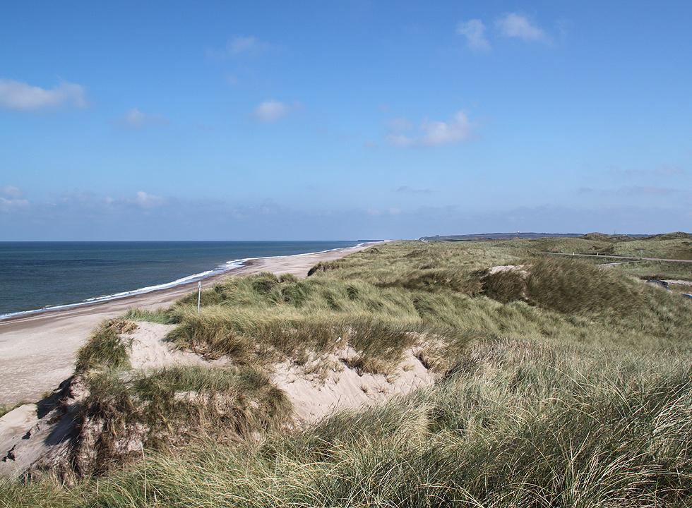 Beach and dunes, south of Hanstholm