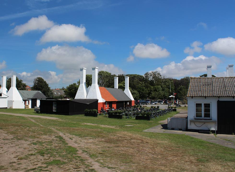 The smokehouse Hasle Røgeri has no less than 10 smokers and chimneys at their disposal