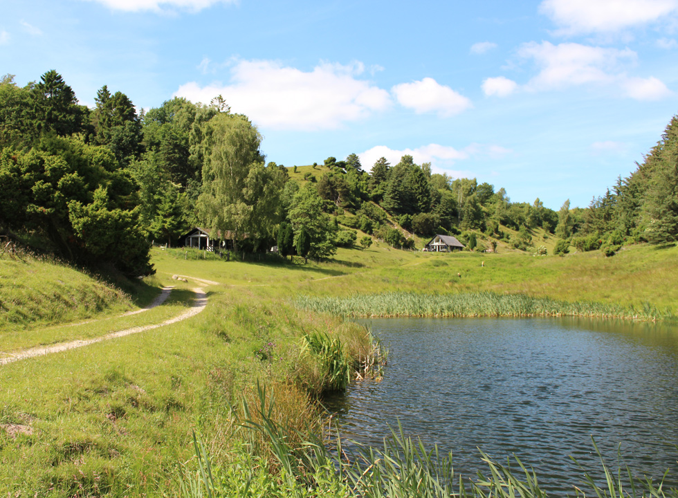 Holiday homes in scenic and hilly surroundings in Hegedal, Hobro