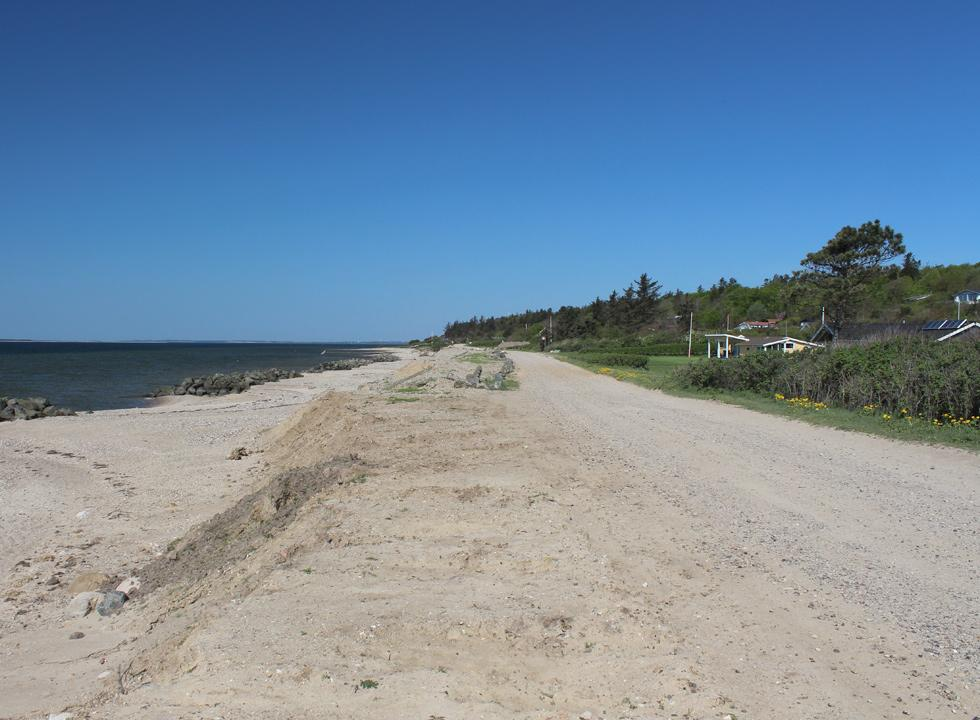 Holiday homes, right behind the beach in Hostrup