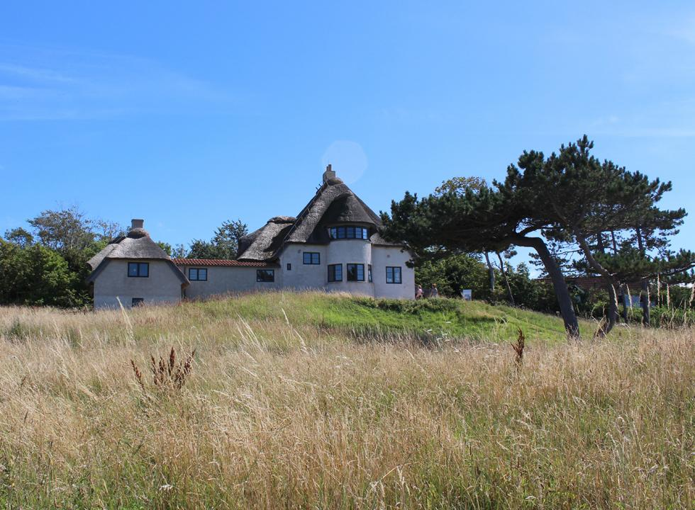 The house of the polar explorer Knud Rasmussen in Hundested functions as a museum