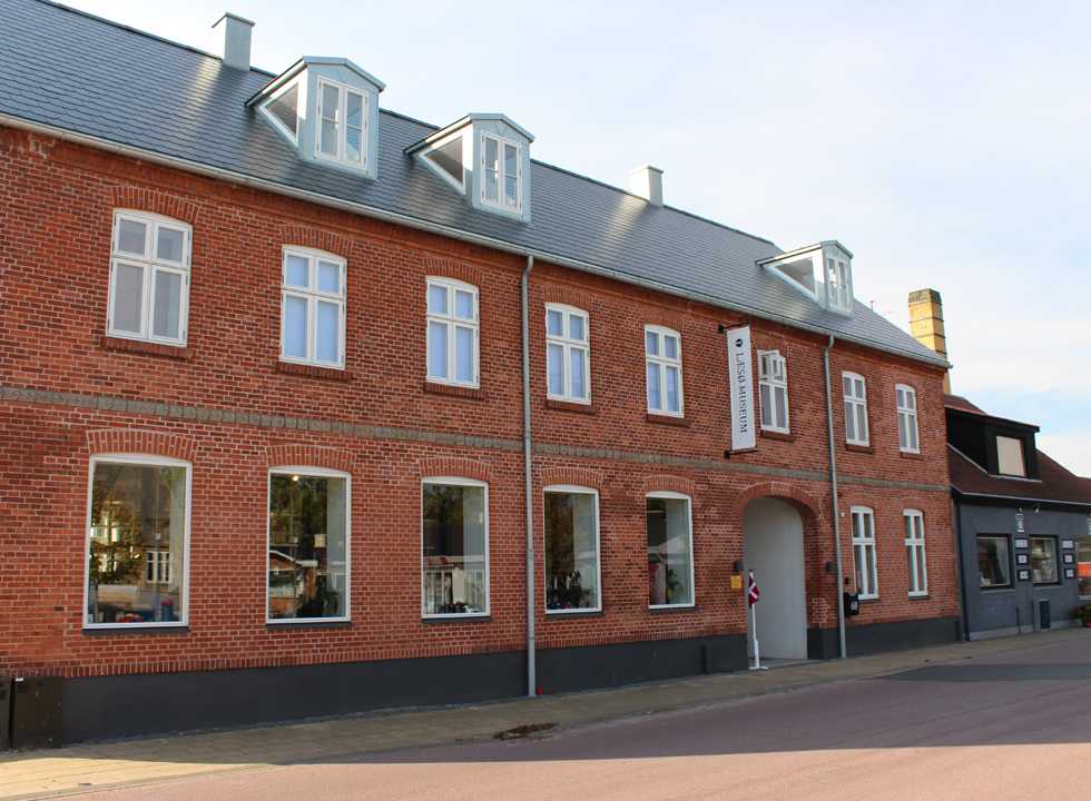 Experience the history og Læsø through exhibitions at Læsø Museum in Byrum