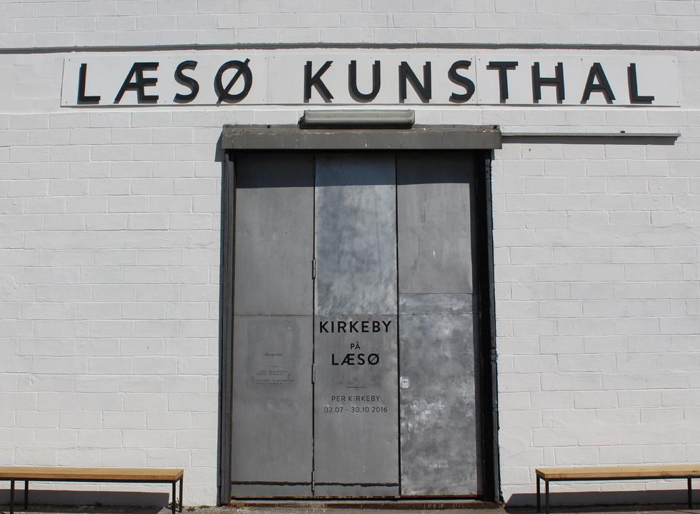 Experience interesting exhibitions in the art hall, Laso Kunsthal, near the harbour in Osterby