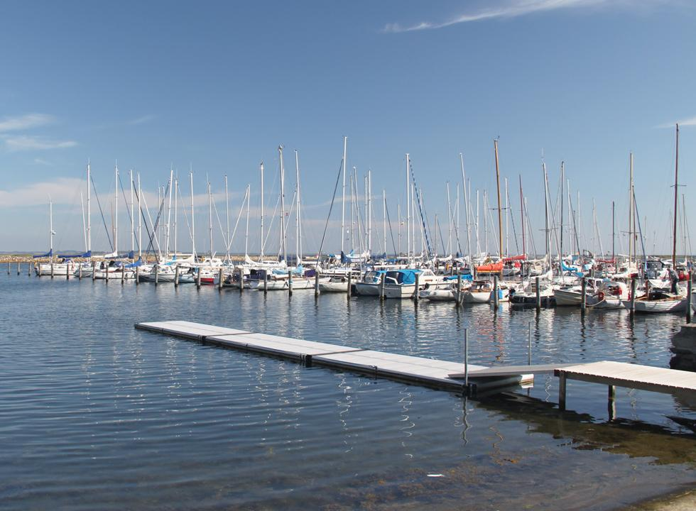 Large and cosy marina in the holiday area Marstal