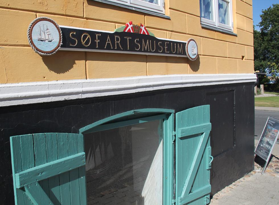 The shipping museum, Søfartsmuseet, in Marstal is one of the most popular attractions in the town