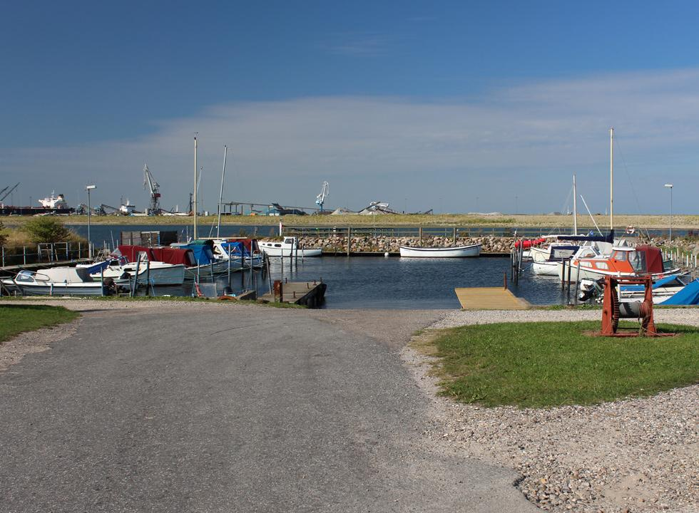 Small and cosy harbour in Boels Bro near Munkebo