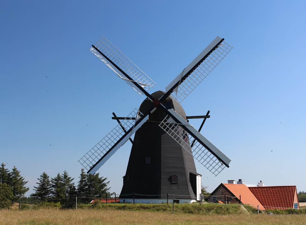 Mill in the hinterland of Nr. Rubjerg