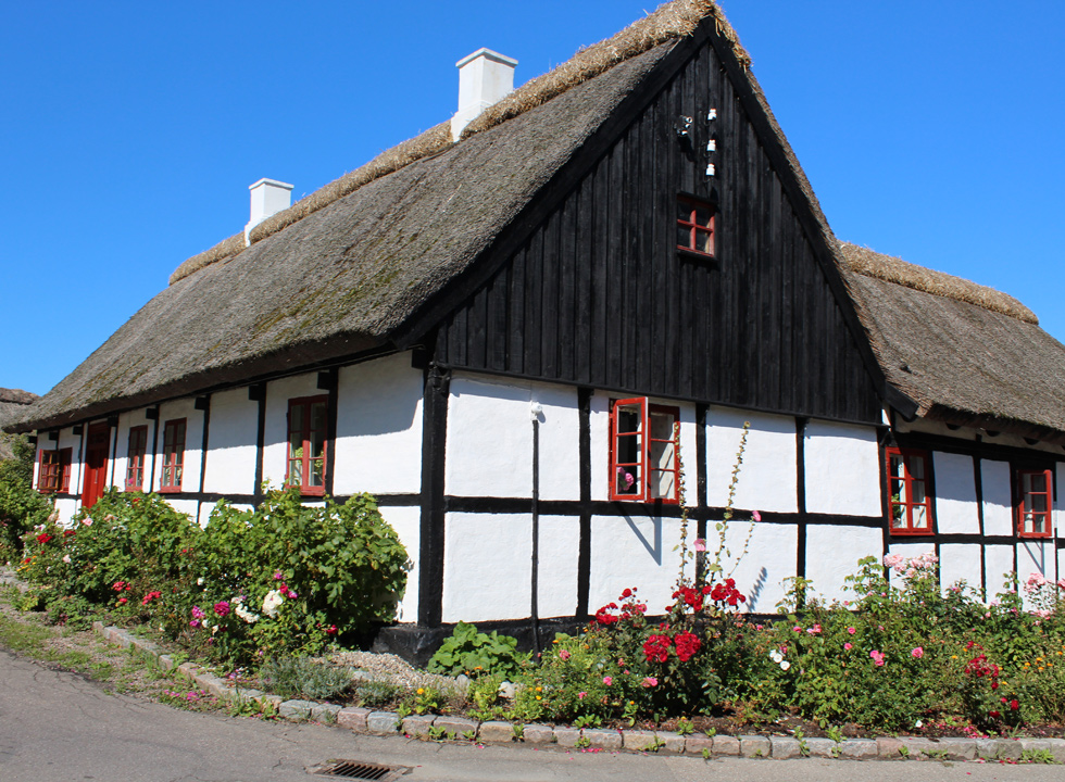 Beautiful and well-ketp half-timbered house in Reersø