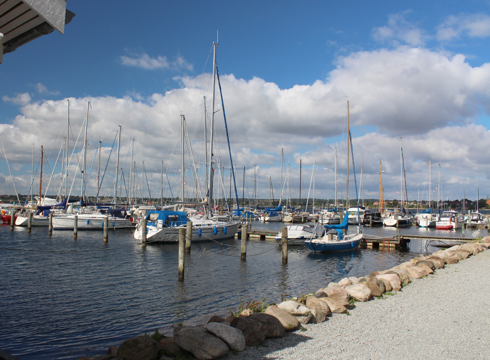 In Rendbjerg you will find a large and charming marina
