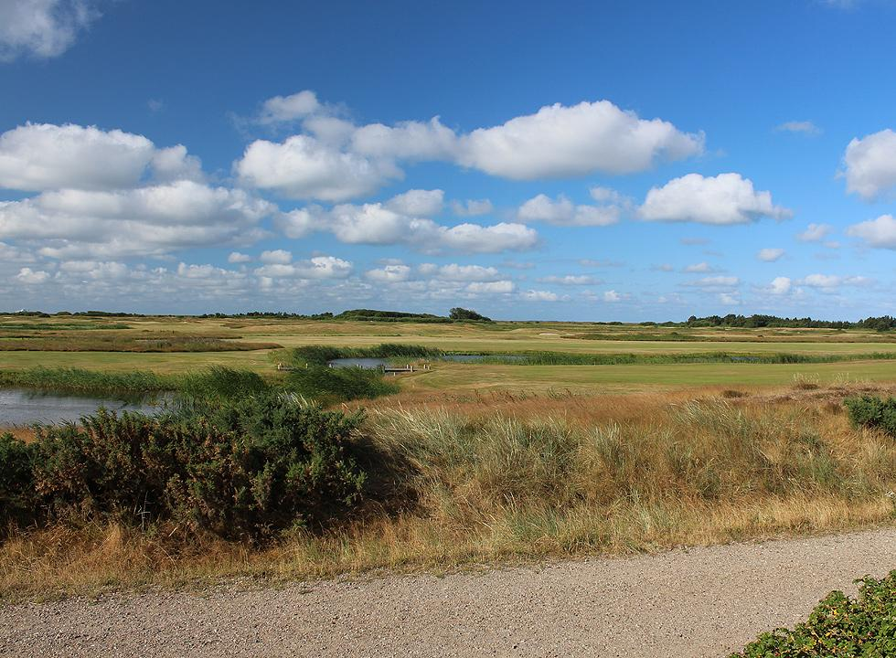 The beautiful course of Romo Golfklub in Havneby offers challenges for golf players on all levels