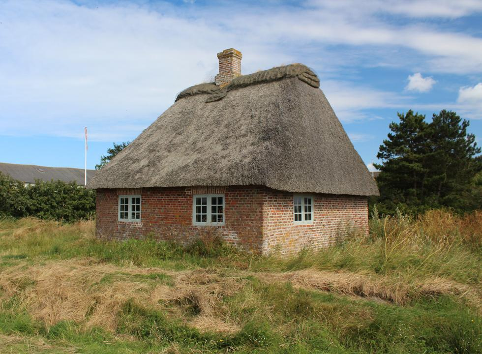 One of Denmark's smallest schools is situated in Toftum and has been restored to its original appearance
