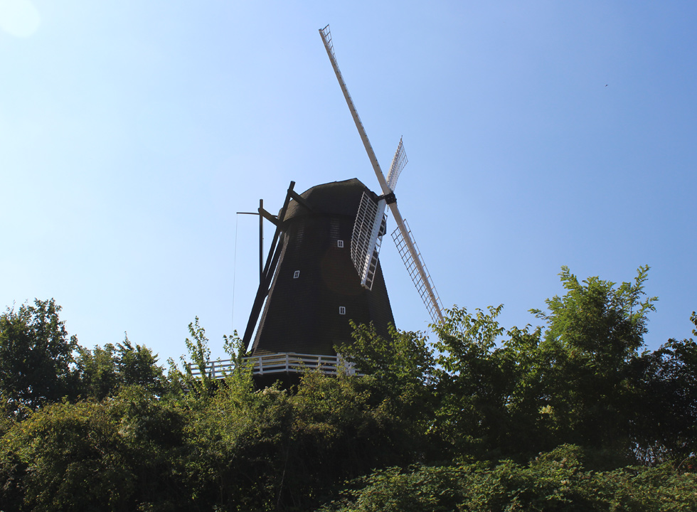 Fine old mill in the centre of Rudkøbing