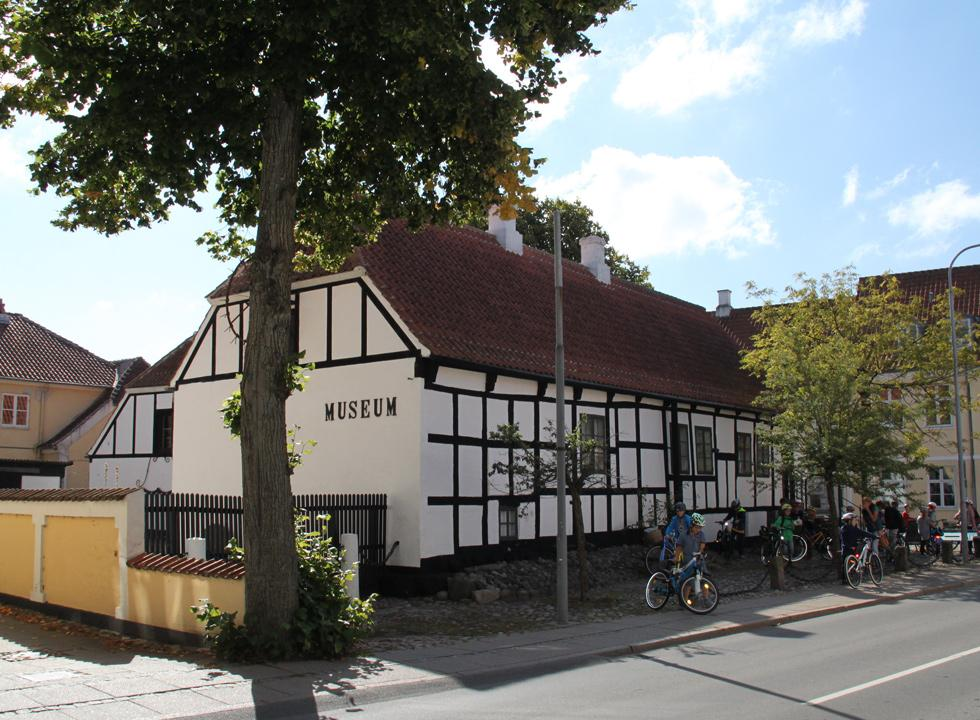 Historic museum, which has been established in a beautiful half-timbered house in the centre of Sæby