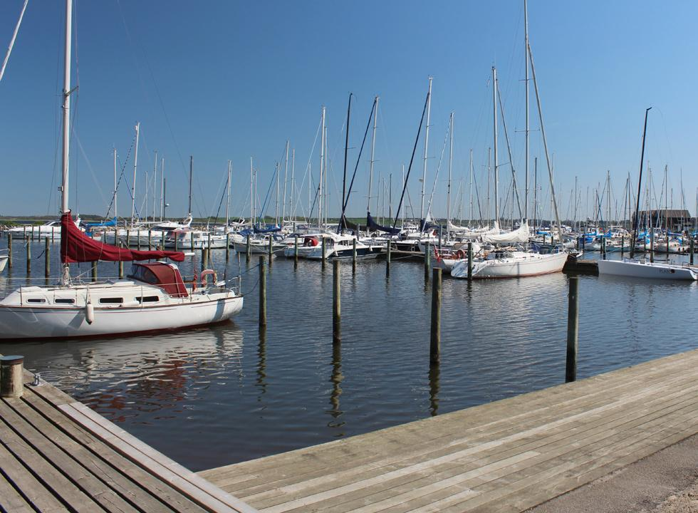 Large and charming marina in Skive