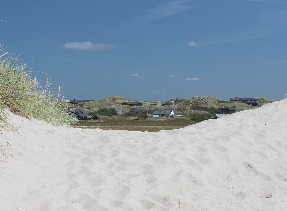 More holiday homes in Skodbjerge are highly situated in the dunes and have a great view of the area and the sea