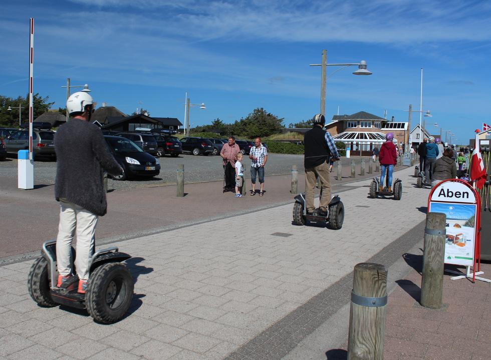 Experience Sondervig in a different way - on a segway