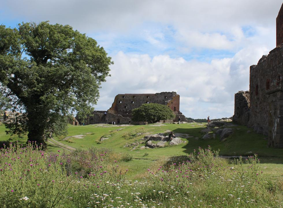 Visit the beautiful castle ruin, Hammerhus, which is located 6 km north of Vang