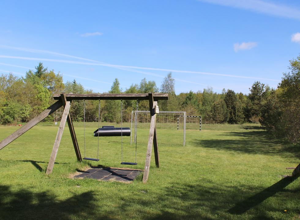 Playing field in green surroundings in the holiday home area Vesterlund