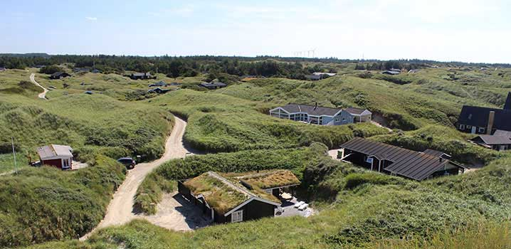 Feriehuse i det nordjyske Saltum