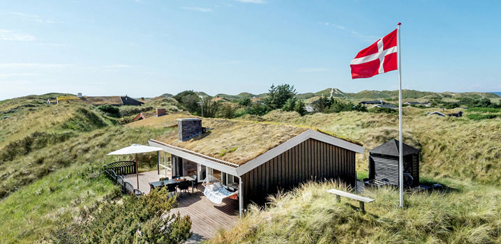 Attractive holiday homes throughout the whole of Denmark