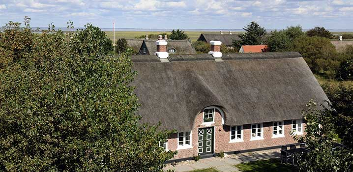 Let a luxury holiday home be the frame of the family holiday on Fanø